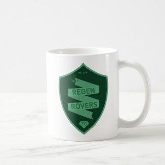 Regen-Vagabund-Weiß-Tasse Kaffeetasse