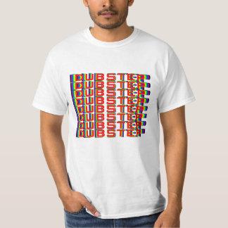 Regenbogen 3D Dubstep T-Shirt