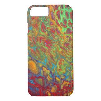 Regenbogen-abstrakter Mobiltelefon-schützender iPhone 8/7 Hülle
