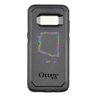 Regenbogen-Arizona-Karte OtterBox Commuter Samsung Galaxy S8 Hülle