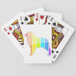 Regenbogen-Australier Spielkarten