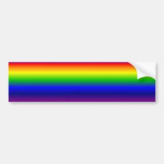 Regenbogen Autoaufkleber