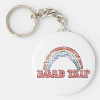 Regenbogen-Autoreise keychain Schlüsselanhänger