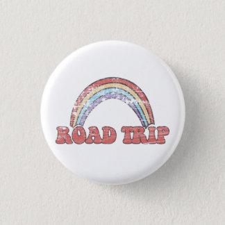 Regenbogen-Autoreise-Knopf Runder Button 2,5 Cm
