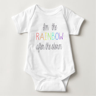Regenbogen-Baby-Ausstattung Baby Strampler
