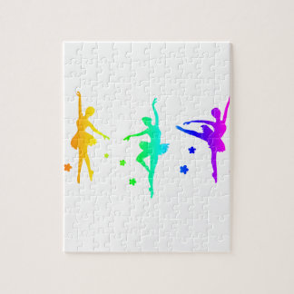 Regenbogen-Ballett Puzzle