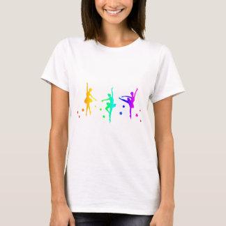 Regenbogen-Ballett T-Shirt