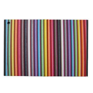 Regenbogen-Band-Kabel-Vertikale-iPad Air ケース