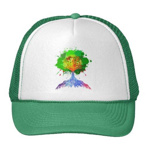 Regenbogen-Baum des Lebens Baseball Cap