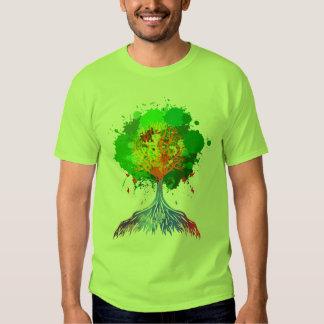 Regenbogen-Baum des Lebens T Shirt