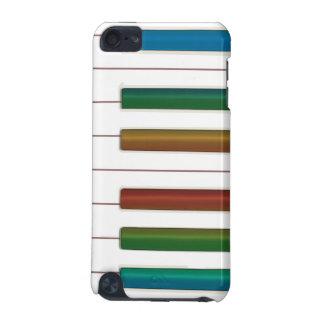 Regenbogen befestigt Klavier-Musikipod-Touch-Fall iPod Touch 5G Hülle