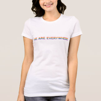 Regenbogen - Bella+Leinwand-Liebling Jersey T-Shirt