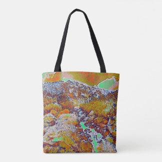 Regenbogen-Berg Tasche