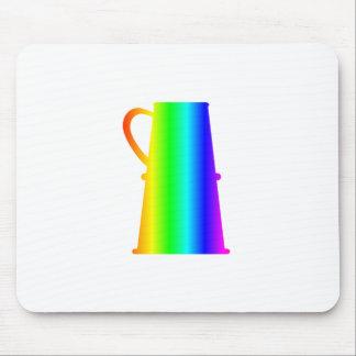 Regenbogen-Bier Stein Mousepad