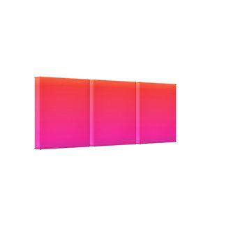 Regenbogen-Bild-Schablone Leinwanddruck