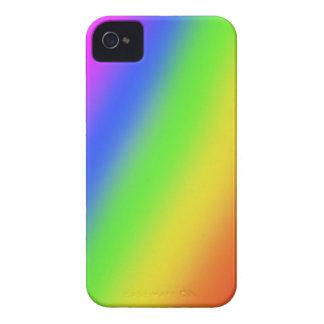 Regenbogen-BlackBerry-mutiger 9700/9780 Kasten iPhone 4 Case-Mate Hülle