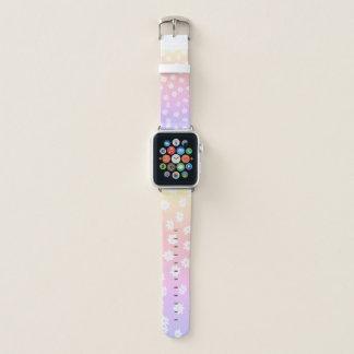 Regenbogen-Blumen Apple Watch Armband