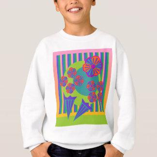 Regenbogen-Blumenstrauß Sweatshirt