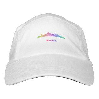 Regenbogen-Boston-Skyline Headsweats Kappe