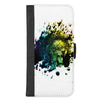 Regenbogen-Brüllenlöwe iPhone 8/7 Plus Geldbeutel-Hülle