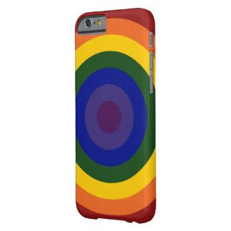 Regenbogen-Bullauge Barely There iPhone 6 Hülle