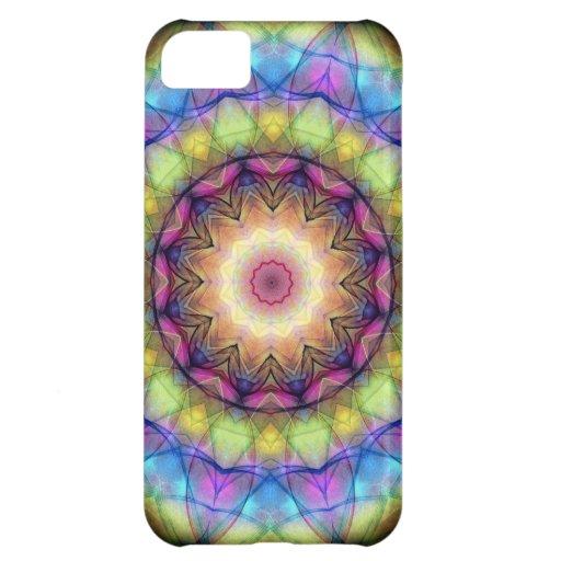 Regenbogen-Buntglas iPhone 5C Hülle