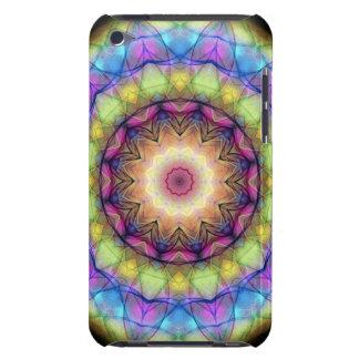 Regenbogen-Buntglas Barely There iPod Hüllen