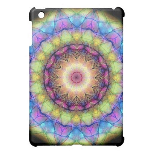 Regenbogen-Buntglas Hüllen Für iPad Mini