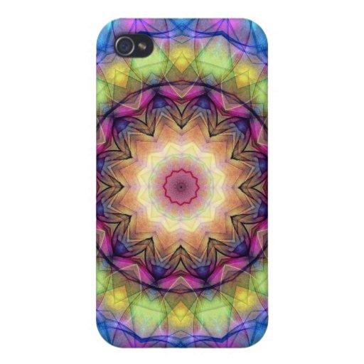 Regenbogen-Buntglas Etui Fürs iPhone 4