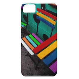 Regenbogen-Café Barely There iPhone 5 Hülle