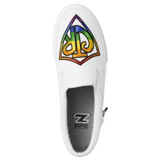 Regenbogen CTR-Schuhe Slip-On Sneaker
