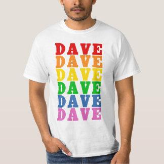 Regenbogen Dave T-Shirt