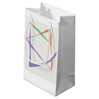 Regenbogen-Davidsstern Geschenktasche Kleine Geschenktüte