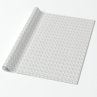 Regenbogen-Davidsstern Verpackung für Hanuka oder Geschenkpapier