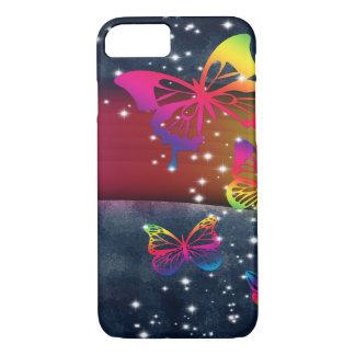 Regenbogen der Schmetterlings-n iPhone 8/7 Hülle