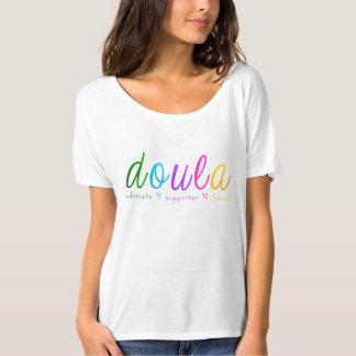Regenbogen Doula Entwurf T-Shirt