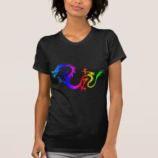 Regenbogen-Drache 6 T-Shirt