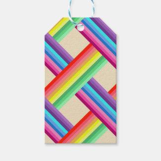 Regenbogen-Drehung Geschenkanhänger