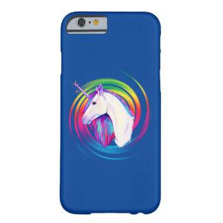 Regenbogen-Einhorn Barely There iPhone 6 Hülle