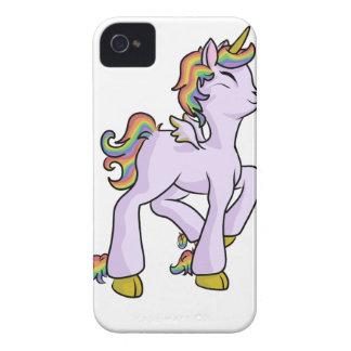 Regenbogen-Einhorn! iPhone 4 Hülle