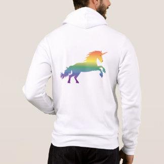 Regenbogen-Einhorn lgbt Hoodie