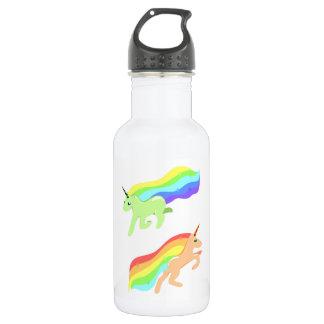 Regenbogen-Einhörner Edelstahlflasche