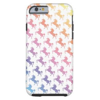 Regenbogen-Einhörner Tough iPhone 6 Hülle