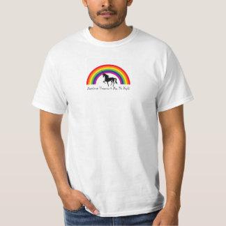 Regenbogen, Einhörner u. ich T-Shirt