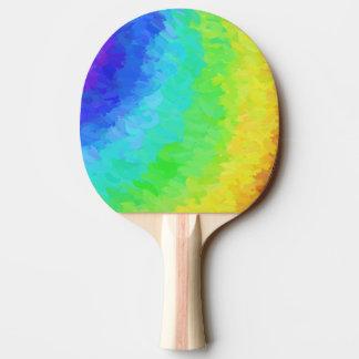 Regenbogen eisig tischtennis schläger