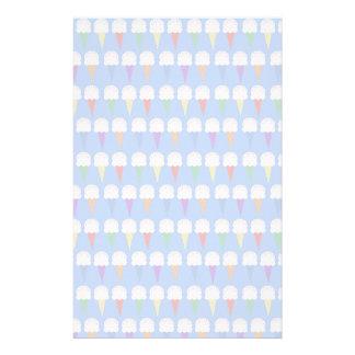 Regenbogen-Eistüten Briefpapier