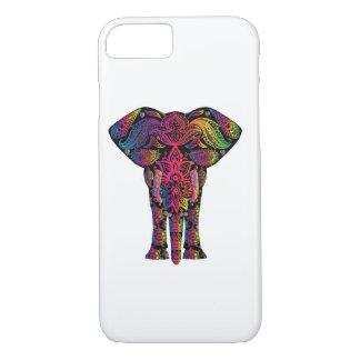 Regenbogen-Elefant-BöhmeHippie iPhone 8/7 Hülle