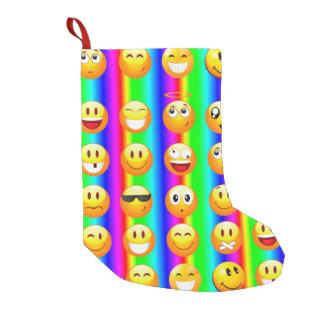 Regenbogen emoji WeihnachtsweihnachtsStrumpf Kleiner Weihnachtsstrumpf