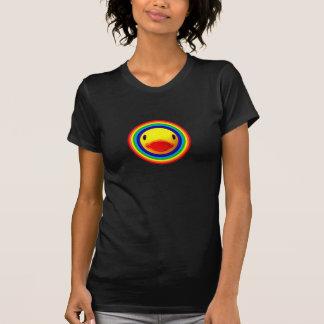Regenbogen-Ente T-Shirt