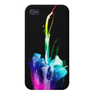 Regenbogen-Explosion iPhone 4 Etui